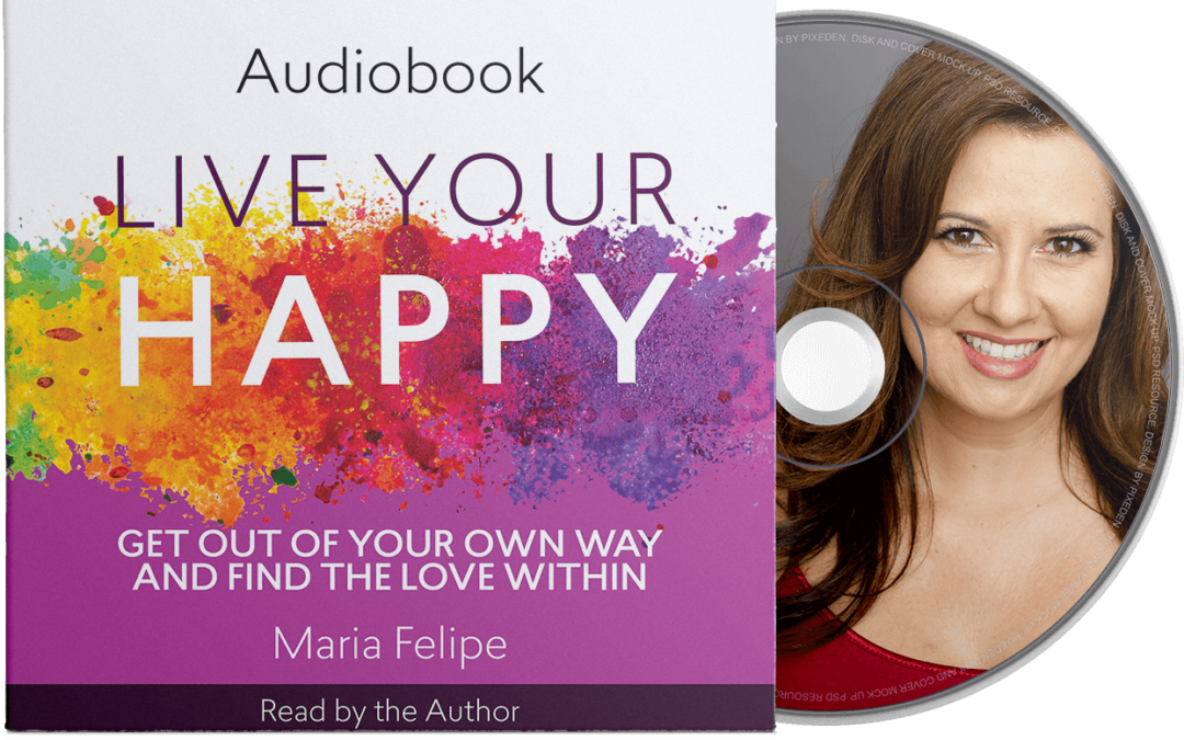 Live Your Happy Audiobook is officially published!